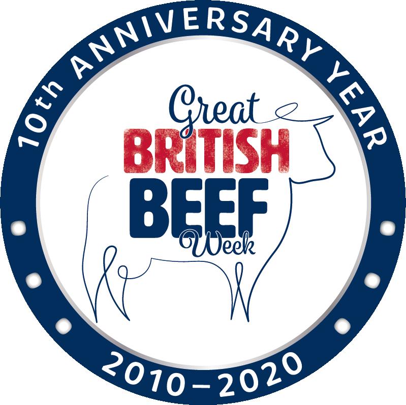 10th anniversary year logo