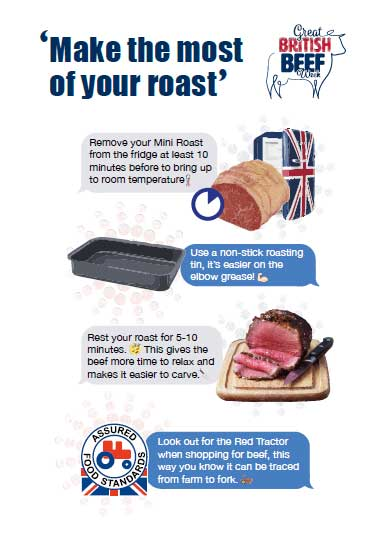 Make the most of your roast infographic